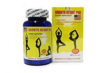 Đánh giá thuốc tăng chiều cao Growth Height Pro