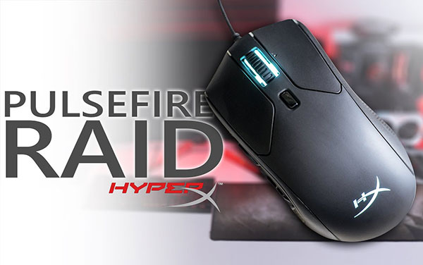HyperX Pulsefire Raid mới nhất