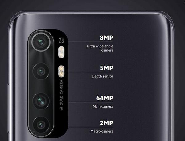 Camera Xiaomi Mi Note 10 Lite
