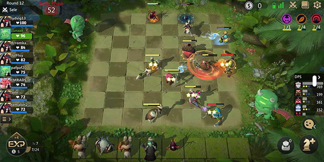 Game auto chess