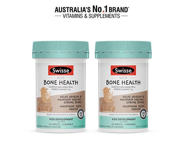 Giới thiệu sản phẩm Swisse Kids Bone Health