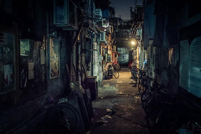 Hình ảnh khu phố cổ kính tuyệt đẹp