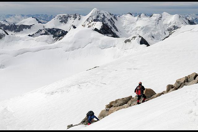 Hình ảnh núi tuyết hùng vĩ
