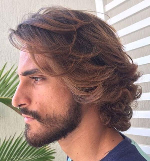 Kiểu tóc nam xoăn