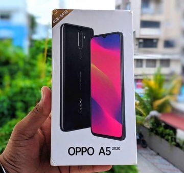 Đánh giá điện thoại Oppo A5 2020