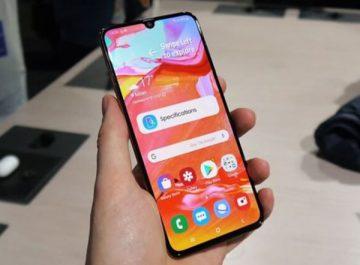 Đánh giá điện thoại Samsung Galaxy A70