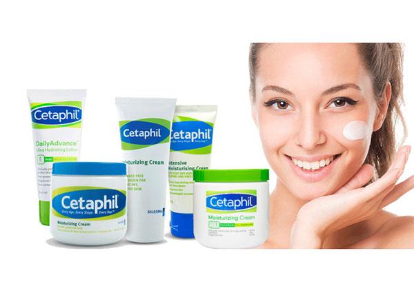 Sản phẩm kem dưỡng ẩm Cetaphil