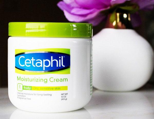 Thiết kế kem dưỡng ẩm Cetaphil