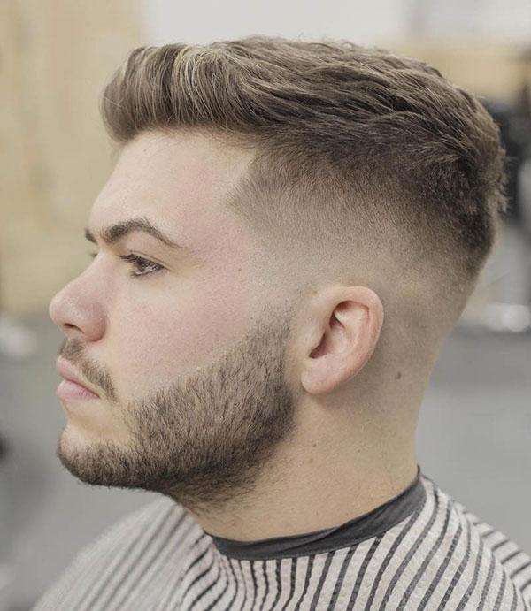 tóc nam cạo sát vuốt ngược