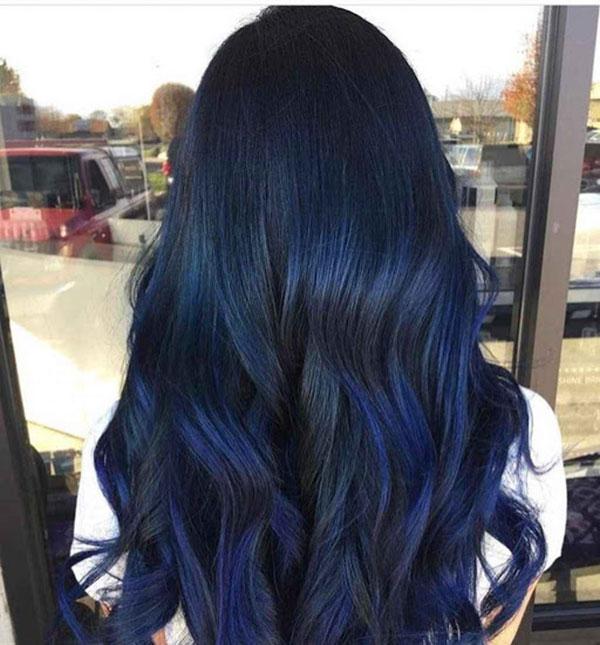 Tóc xanh đen lượn sóng