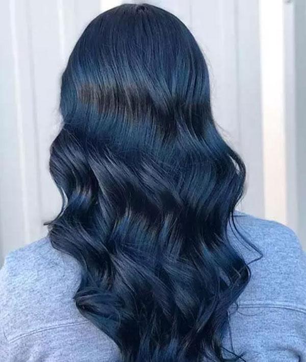 Tóc xanh đen nguyên thủy