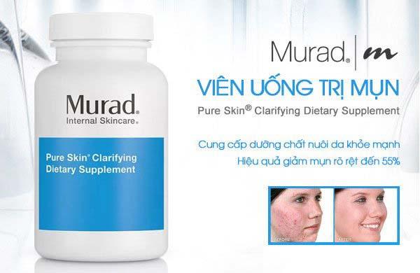 Giới thiệu về viên uống trị mụn Murad