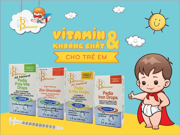 Đánh giá Vitamin tổng hợp cho trẻ BPROTECTED 1