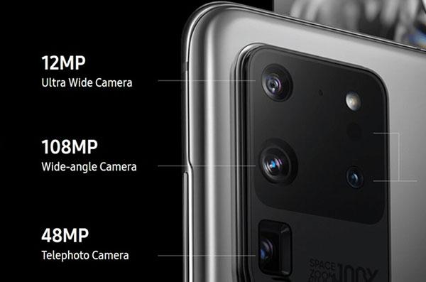 camera Samsung Galaxy S20 Ultra