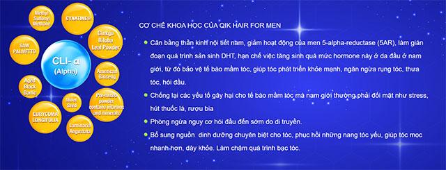 qik hair cho nam