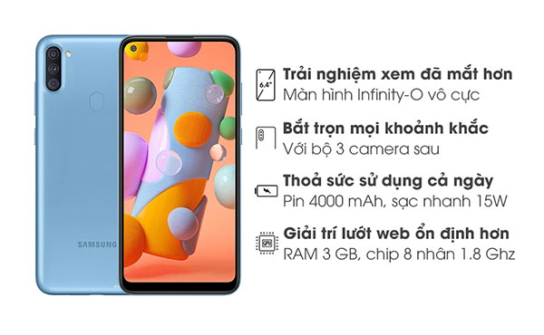 Sản phẩm Samsung Galaxy A11