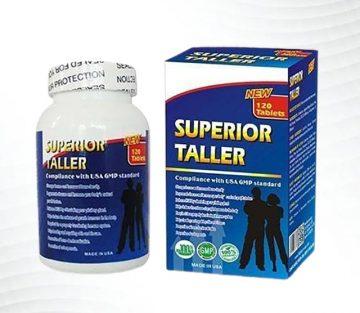 [Review] Đánh giá thuốc tăng chiều cao Superior Taller