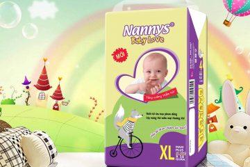 [Review] Đánh giá tã bỉm Nannys Baby Love