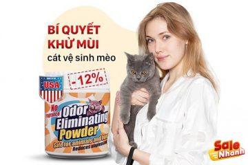 [Review] Đánh giá bột khử mùi cát mèo MeLa
