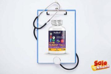 [Review] Đánh giá thuốc tăng chiều cao NuBest Tall
