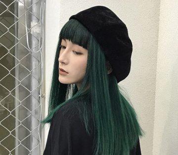 Top màu tóc xanh rêu đẹp nhất 2021