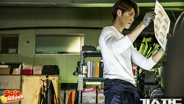 The Con Artist kim woo bin