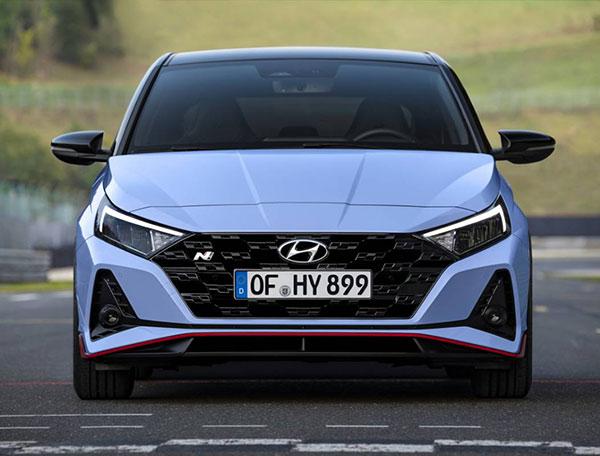 Thiết kế Hyundai i20 2021