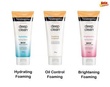 [Review] Đánh giá sữa rửa mặt Neutrogena Deep Clean