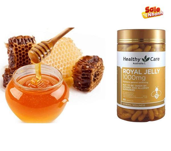 Sản phẩm sữa ong chúa rayal jelly