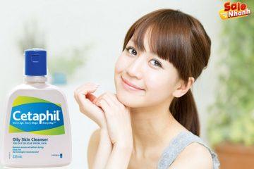 [Review] Đánh giá sữa rửa mặt Cetaphil Oily Skin Cleanser
