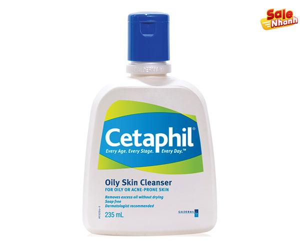 Sữa rửa mặt cetaphil cho da nhờn salenhanh