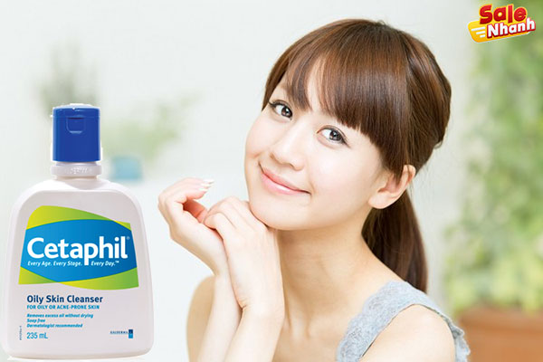 Sữa rửa mặt cetaphil salenhanh