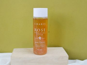 [Review] Đánh giá Nước hoa hồng Charis dưỡng ẩm da