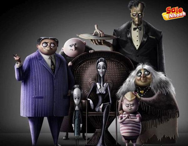 Gia đình Addams salenhanh
