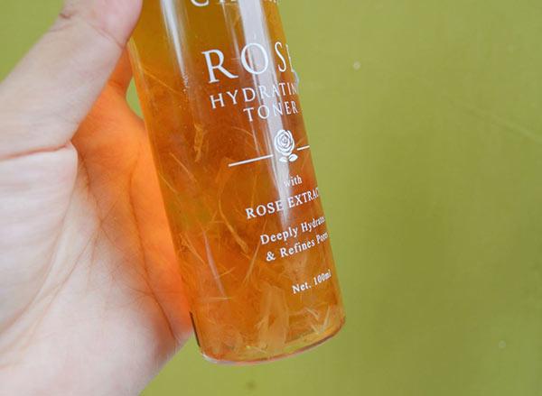 Review nước hoa hồng Charis