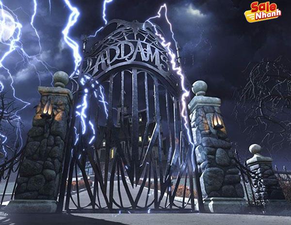 Review phim gia đình Addams salenhanh