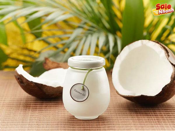 Chăm sóc tóc dùng dầu dừa