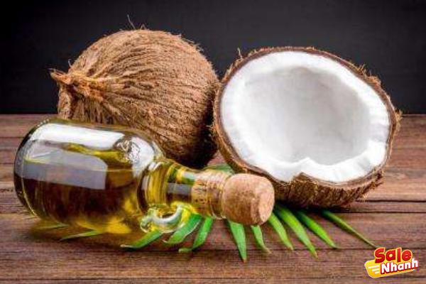 Dầu dừa chăm sóc tóc