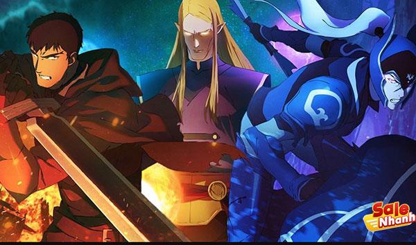 Nhân vật trong anime dota salenhanh