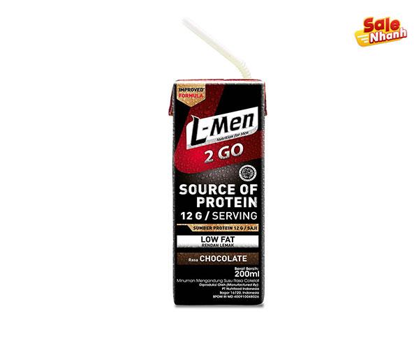 Sữa whey Protein Nutrifood L-Men 2GO