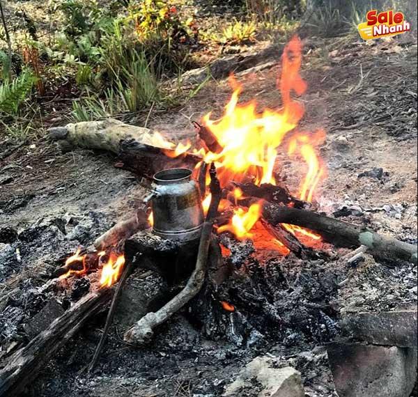 Pha cafe ăn sáng tại Sông Lạnh