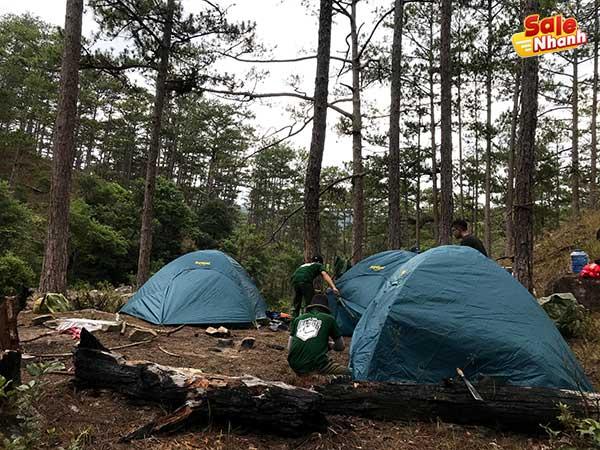 Hạ lều cắm trại Đà Lạt