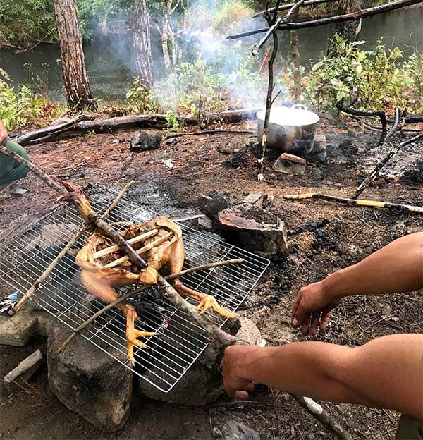 Nấu nướng rừng đà lạt