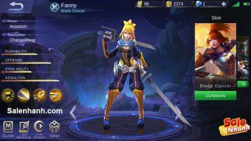 [Review] Hướng dẫn chơi Fanny Mobile Legends