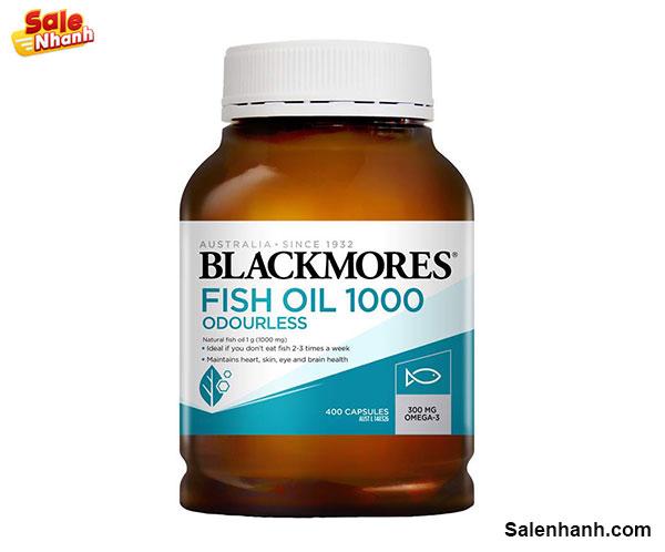 Đánh giá Blackmores Odourless Fish Oil