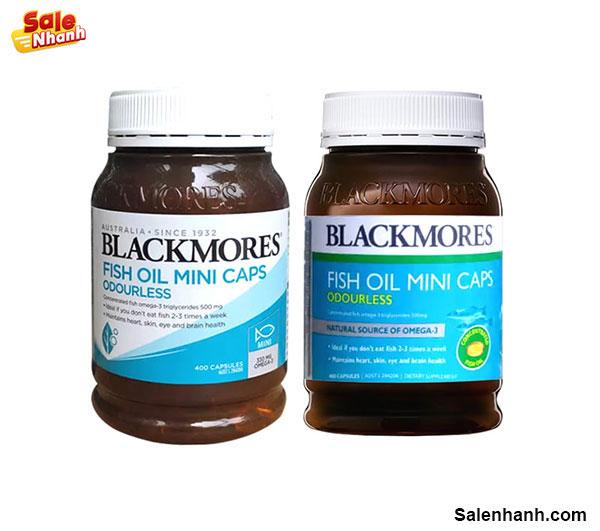 Dầu cá Blackmores Odourless Fish Oil có tốt không