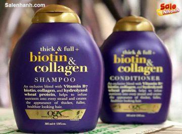 [Review] Đánh giá dầu gội Shampoo Biotin Collagen