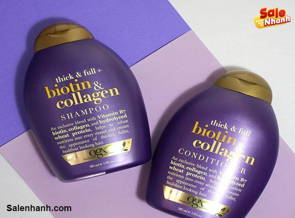 Giới thiệu Shampoo Biotin Collagen