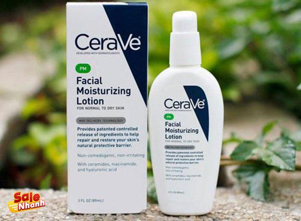 Kem dưỡng CeraVe Facial Moisturizing Lotion PM