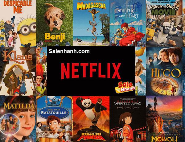 Top phim hoạt hình Netflix